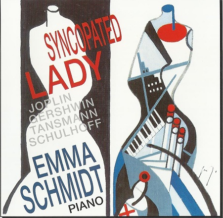 Schmidt Emma CD Cover Syncopated Lady