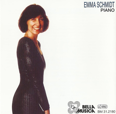 Schmidt Emma CD Cover Syncopated Lady Foto